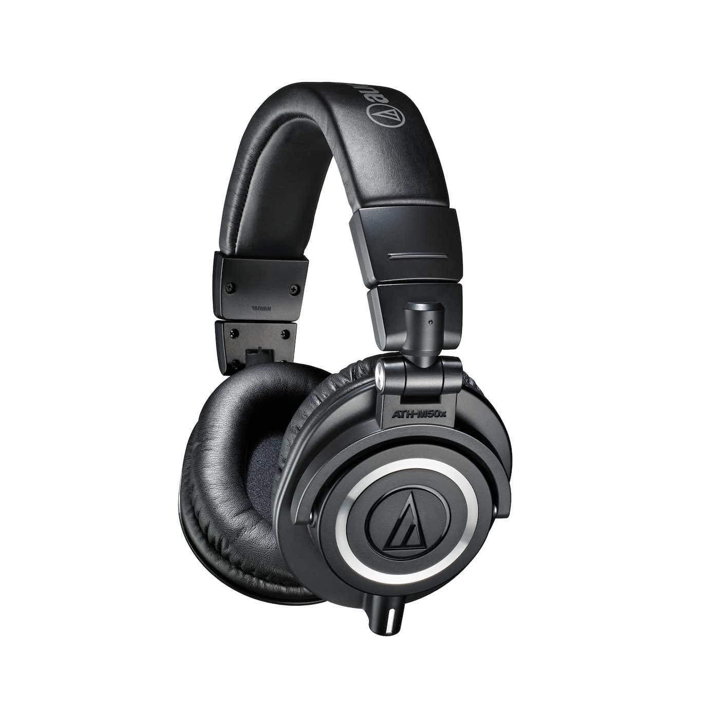 Audio-Technica ATH-M50X Hovedtelefon Sort
