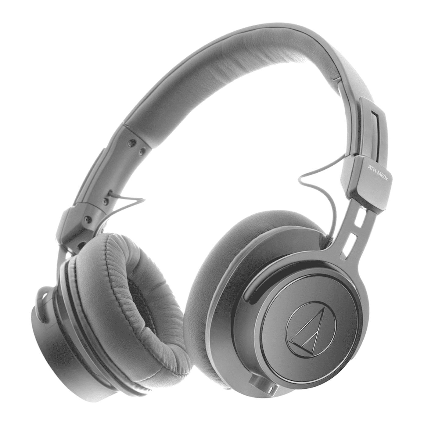 Audio-Technica ATH-M60X Hovedtelefon Sort