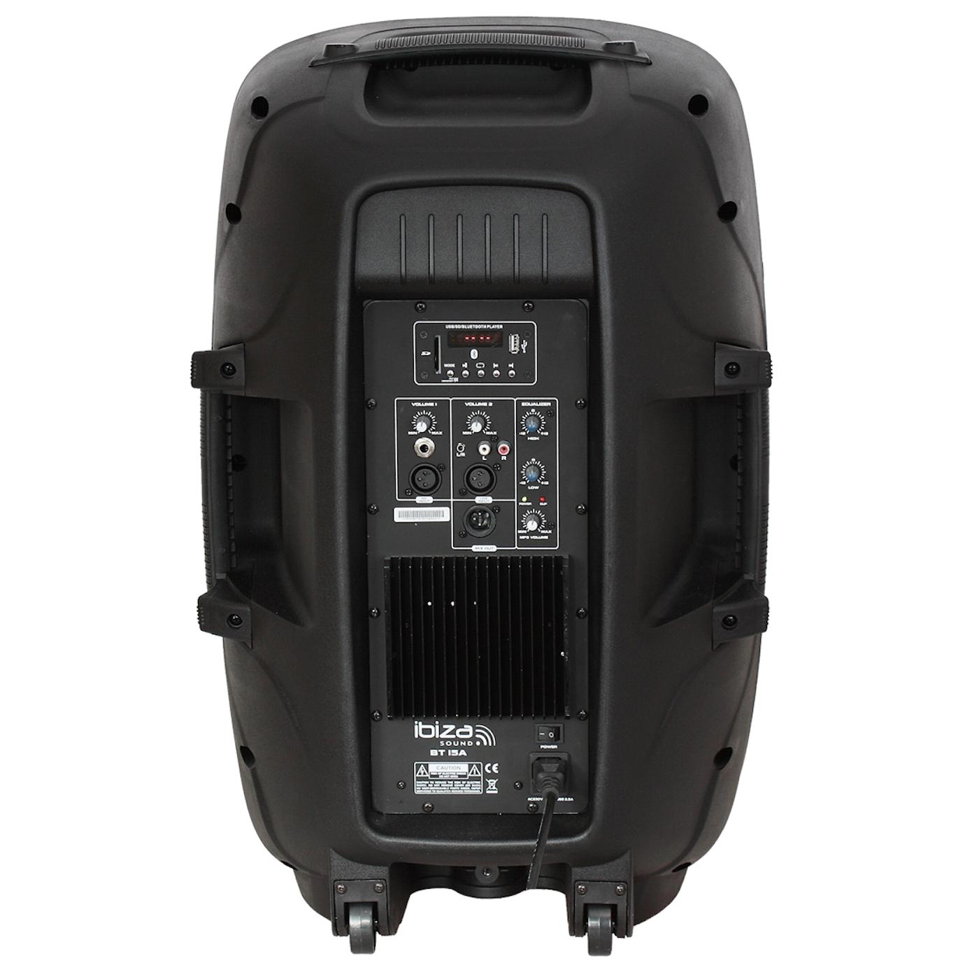 Ibiza 8 højttaler med Bluetooth og Mikrofon Aktive