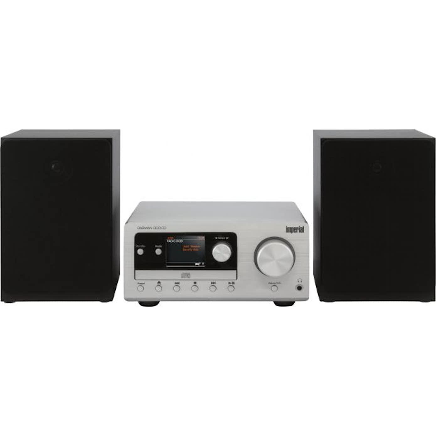 Imperial DABMAN i300 CD Minianlæg med DAB+ og Bluetooth