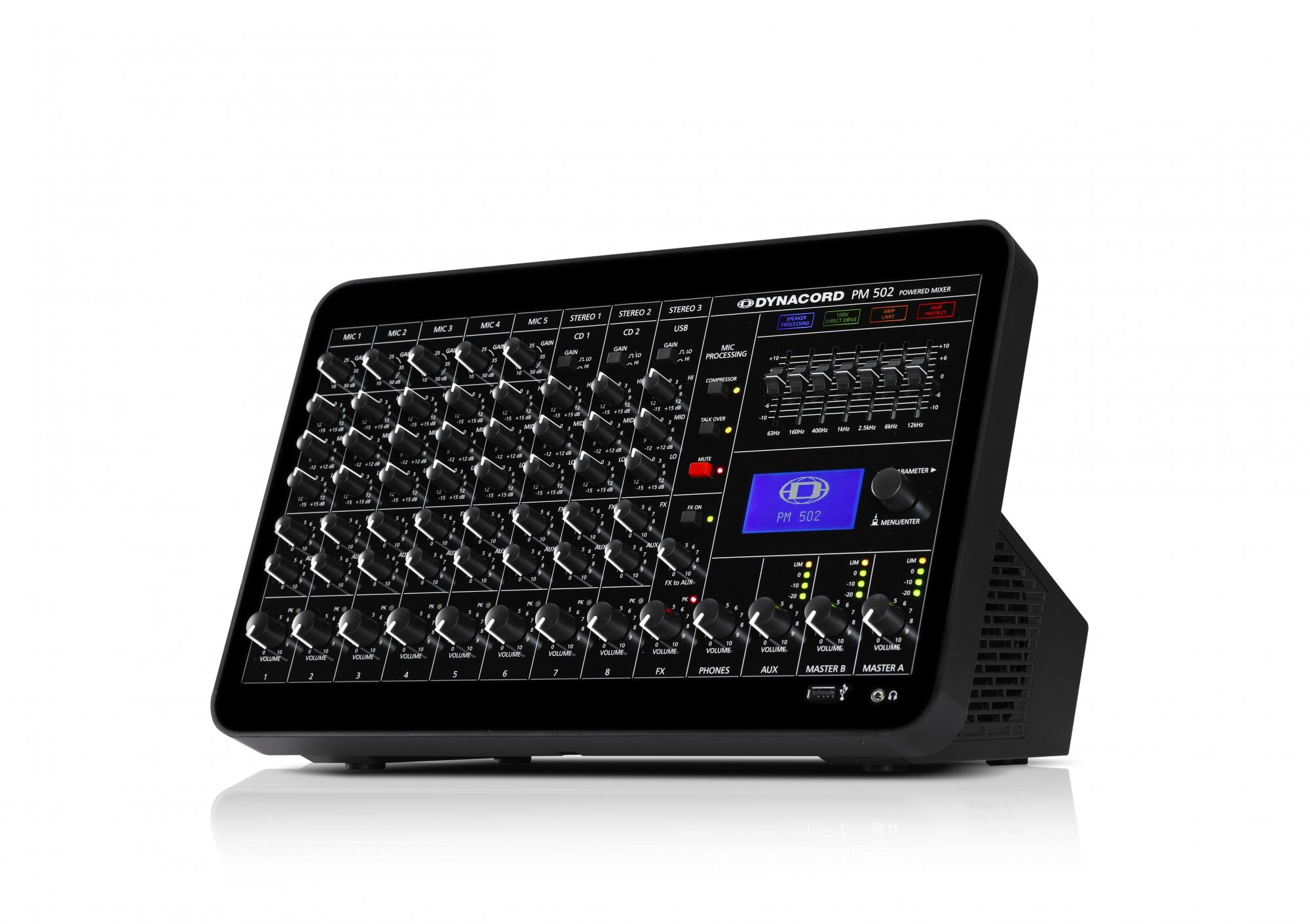 Mikrofon og hovedtelefon mixer Små miksere SoundStoreXL.no