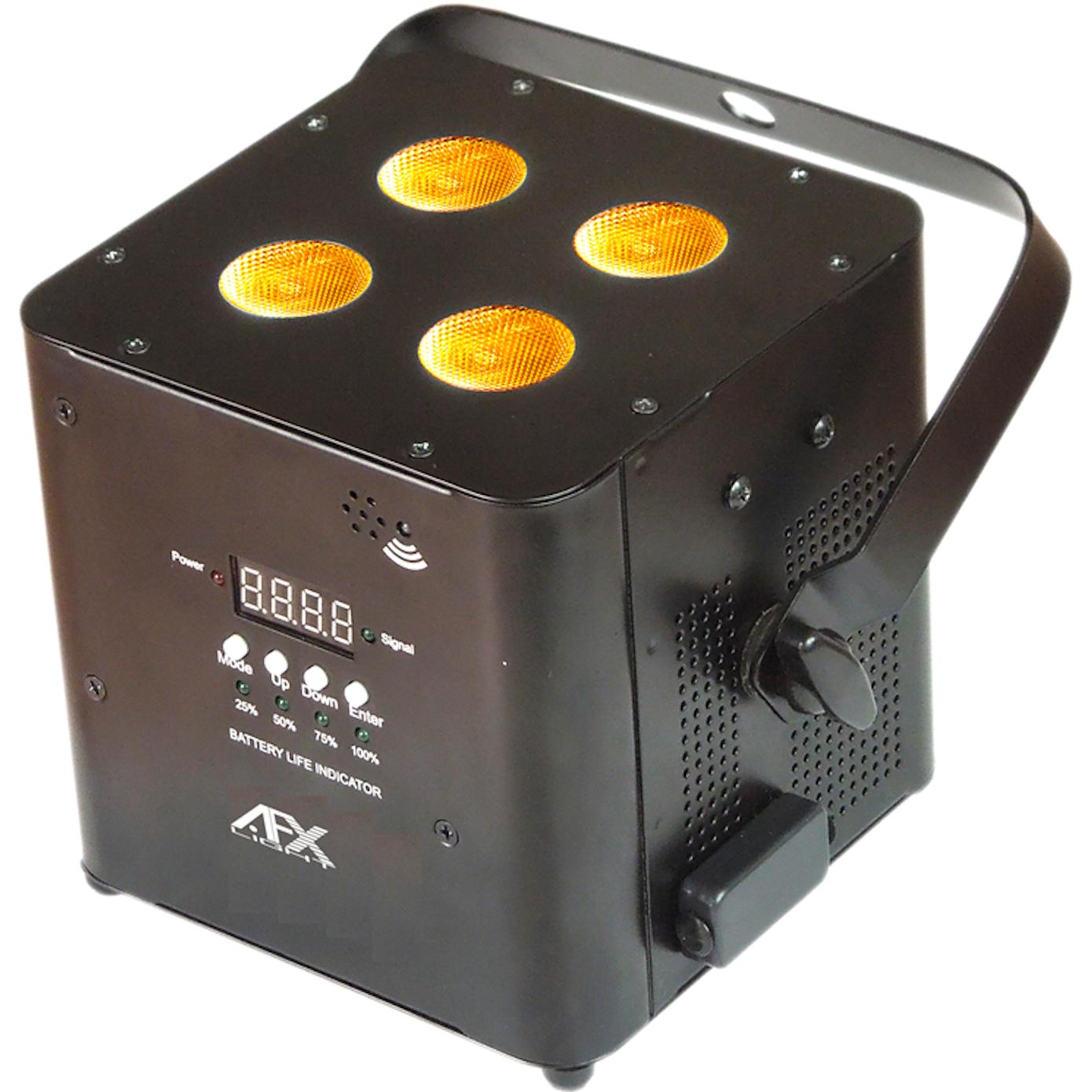 AFX FreePar Hex Trådløs batterilampe - Sort