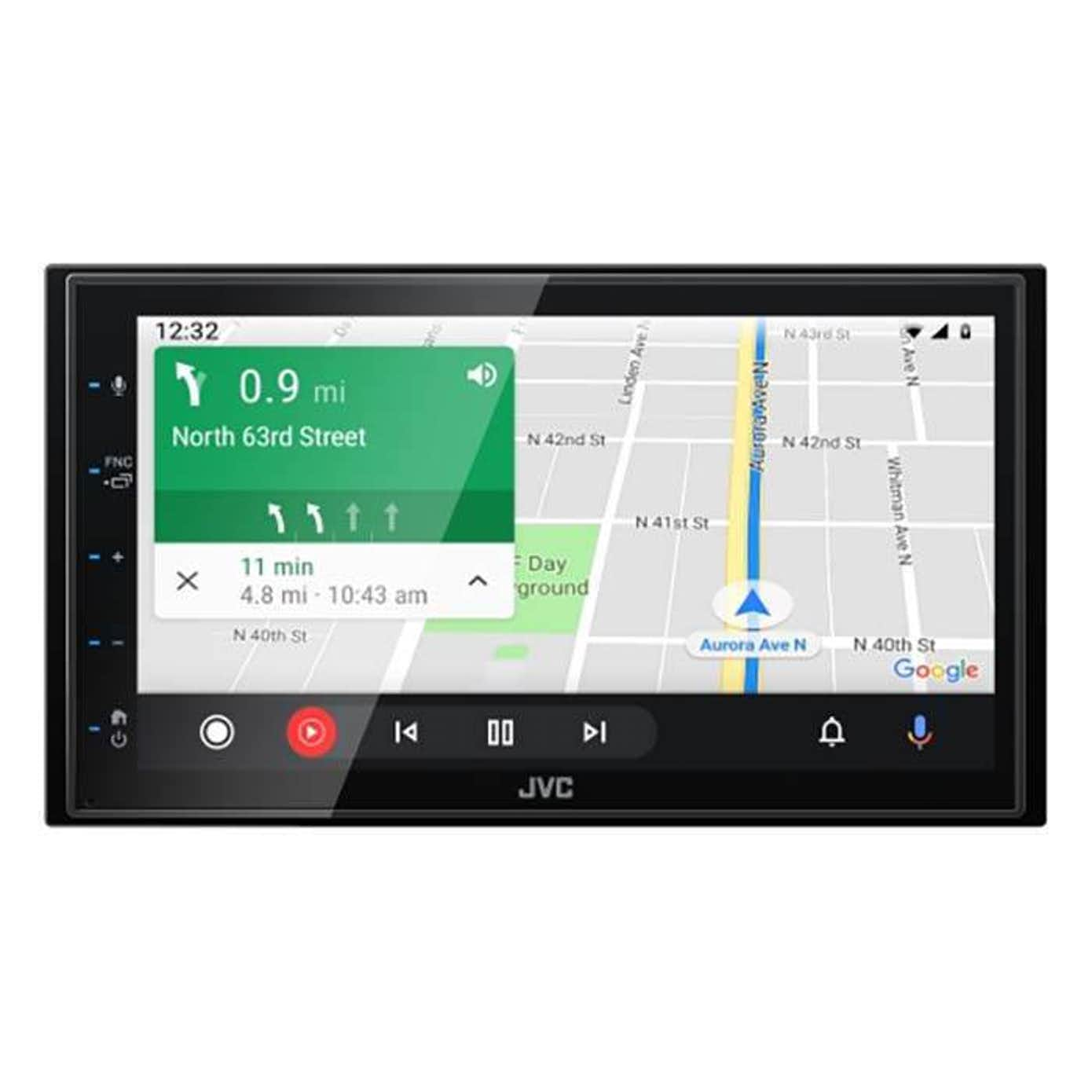 JVC KW-M560BT Bluetooth, Apple CarPlay og Android Auto