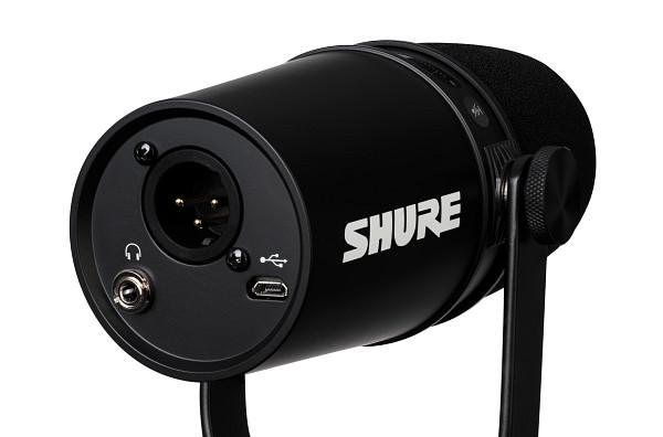 Shure MV7 Podcast Mikrofon sort USB mikrofoner