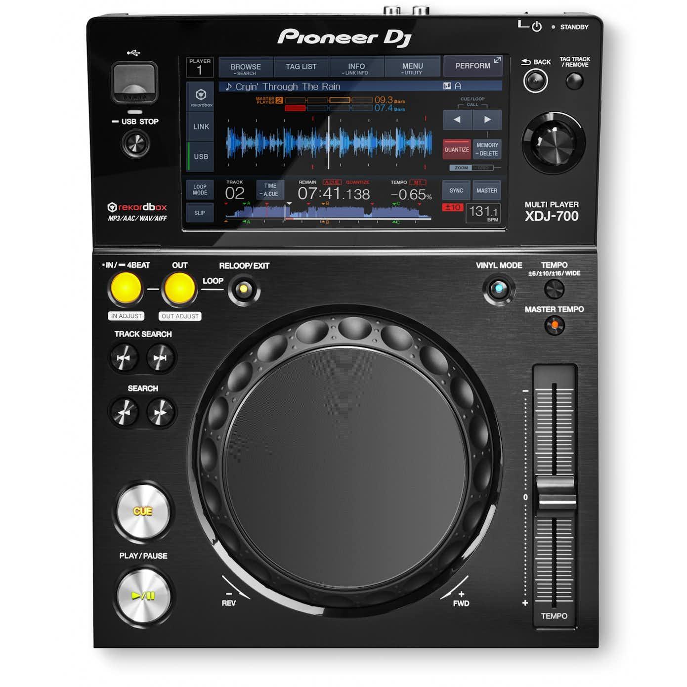 Pioneer XDJ-700 DJ afspiller