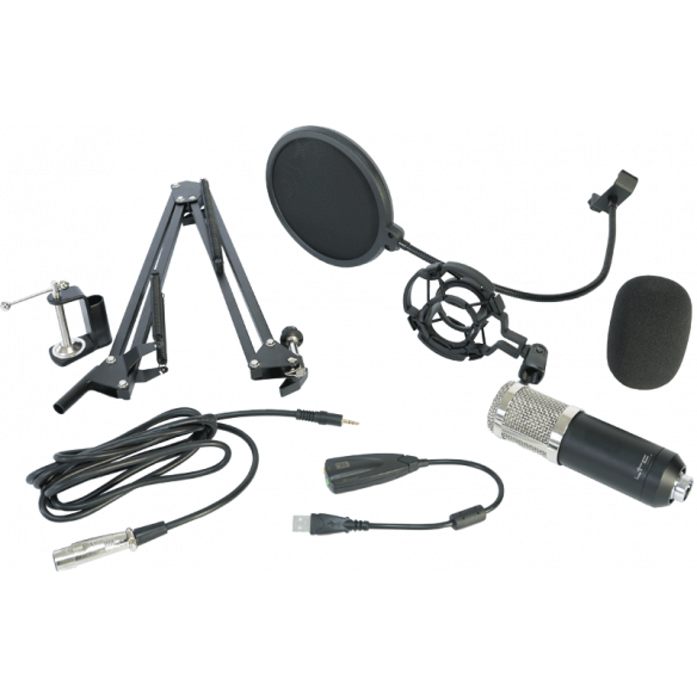 LTC USB Mikrofon Pakke Studio bundle packs SoundStoreXL.no