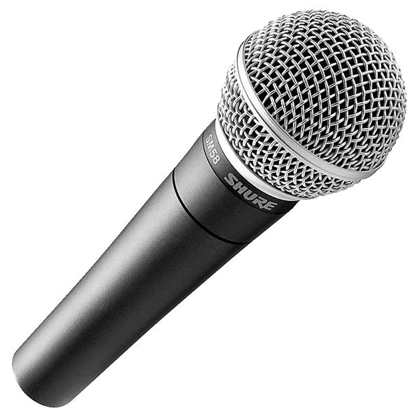 Shure SM58 LC Dynamisk mikrofon til vokal
