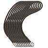 Spannfix Elastik (10 stk.) - sort