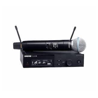 Håndholdt mikrofonsett