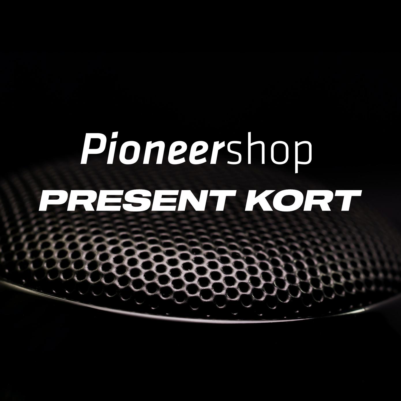 PioneerShop.se Presentkort (mejl)