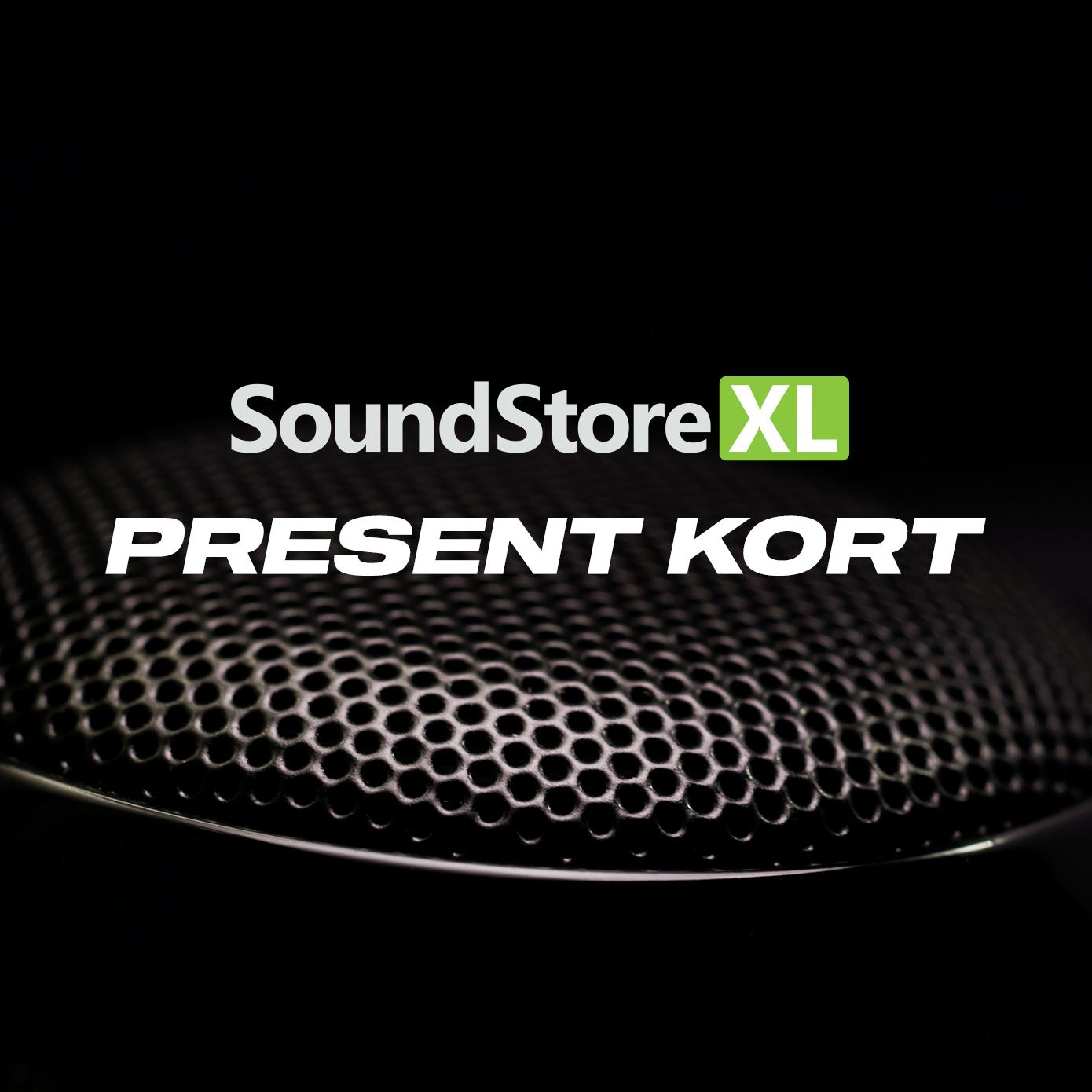 SoundStoreXL Presentkort (mejl)