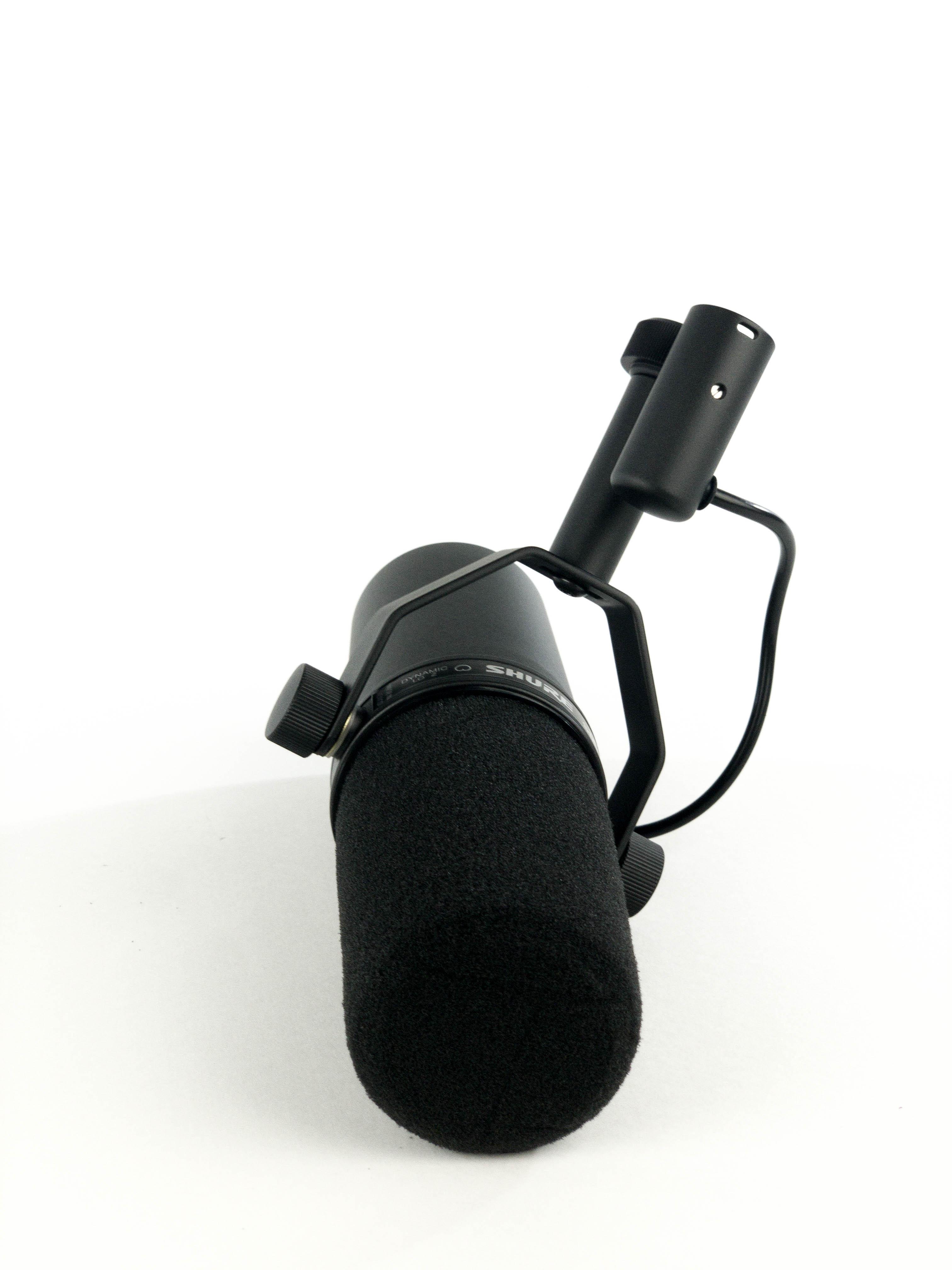 Shure SM7B Studiemikrofoner & opptak
